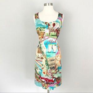 Dolce & Gabbana Silk Dress Sleeveless 44